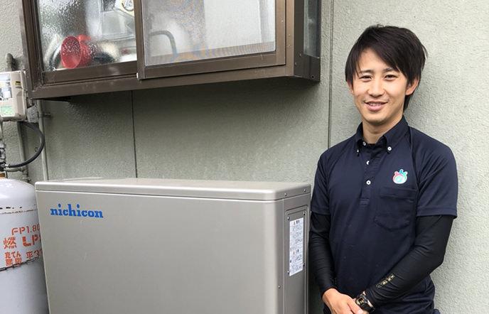 無料トライアルを申し込み→電気料金シミュレーション→蓄電池の成約を獲得