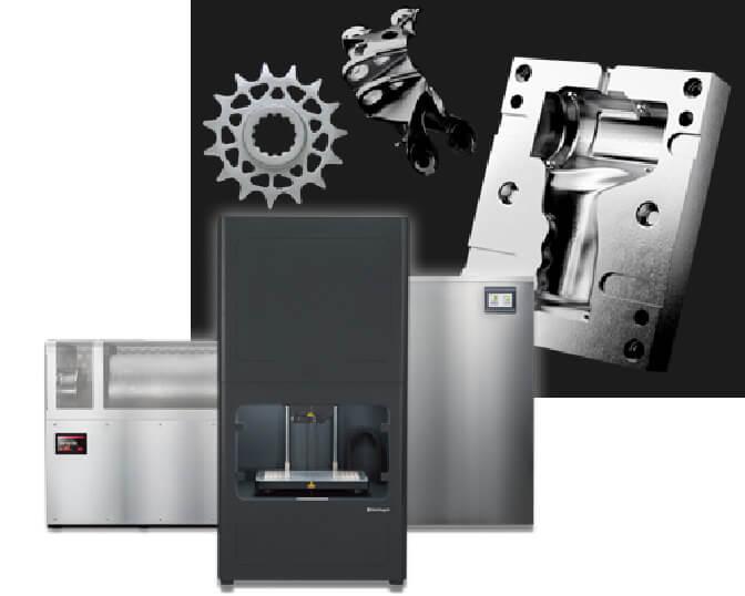 Markforged 金属3Dプリンタ