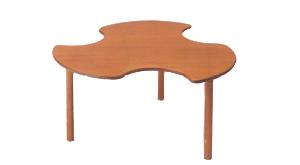 施設対応型バリアフリー・テーブル