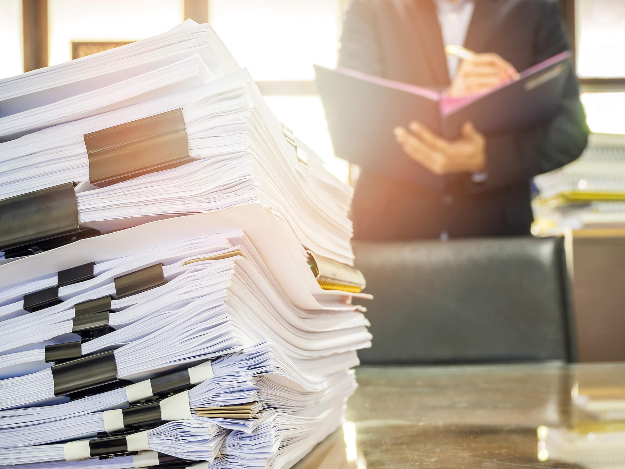 文書情報管理士による最適提案