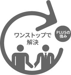 オフィス・事務所移転業務のアウトソーシングなら、PLUSにおまかせください。