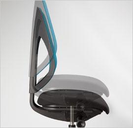 giroflex353_座面高さ調節