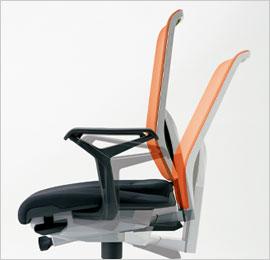 giroflex68_背座シンクロロッキン