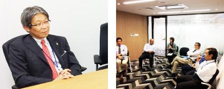 経営層へのヒアリングと座談会開催