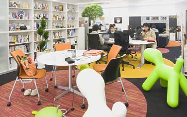 小規模オフィスにおけるフリーアドレス提案