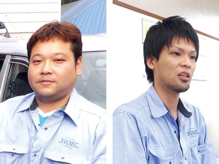(左)高橋 晃司 氏 (右)山野 寛文 氏