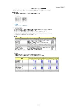 データベース診断レポートサンプル