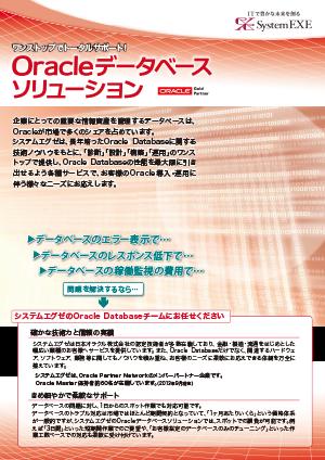 Oracleデータベースソリューション