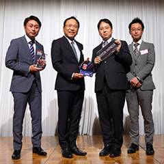 NTT Com主催 Partner of the Year 2017 受賞
