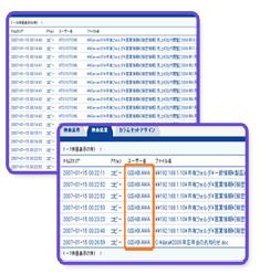 異なるシステムのログも横断・横串検索